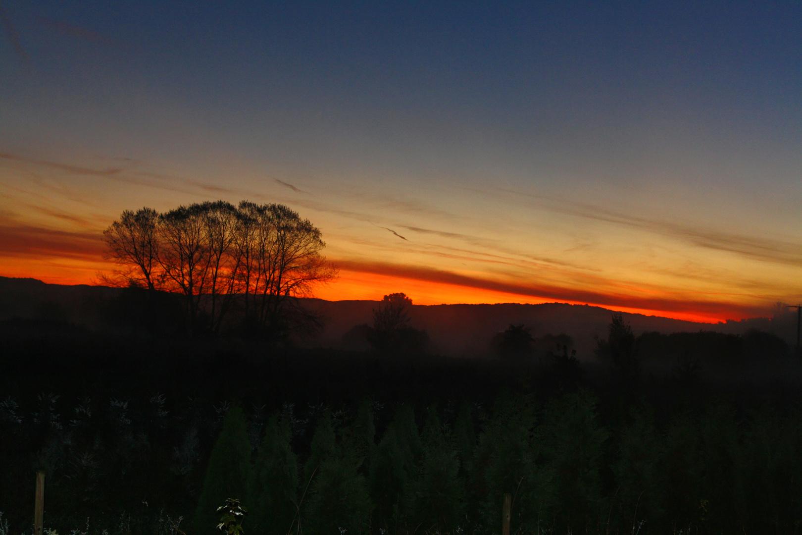 Das Morgenrot...