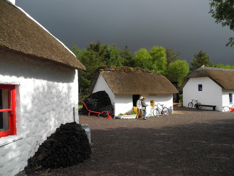 Das Museumstorfdorf in Kerry