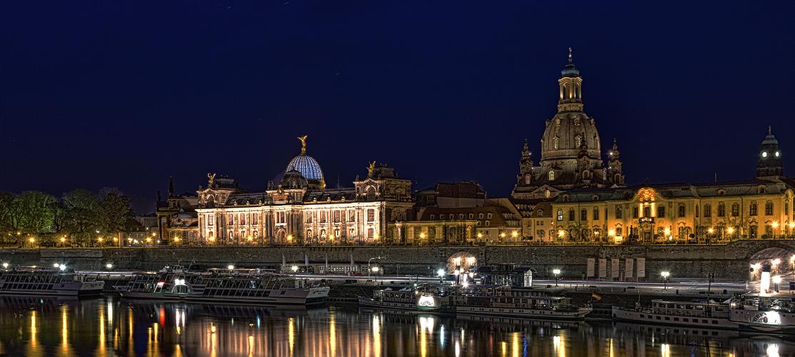 das nächtliche Dresden