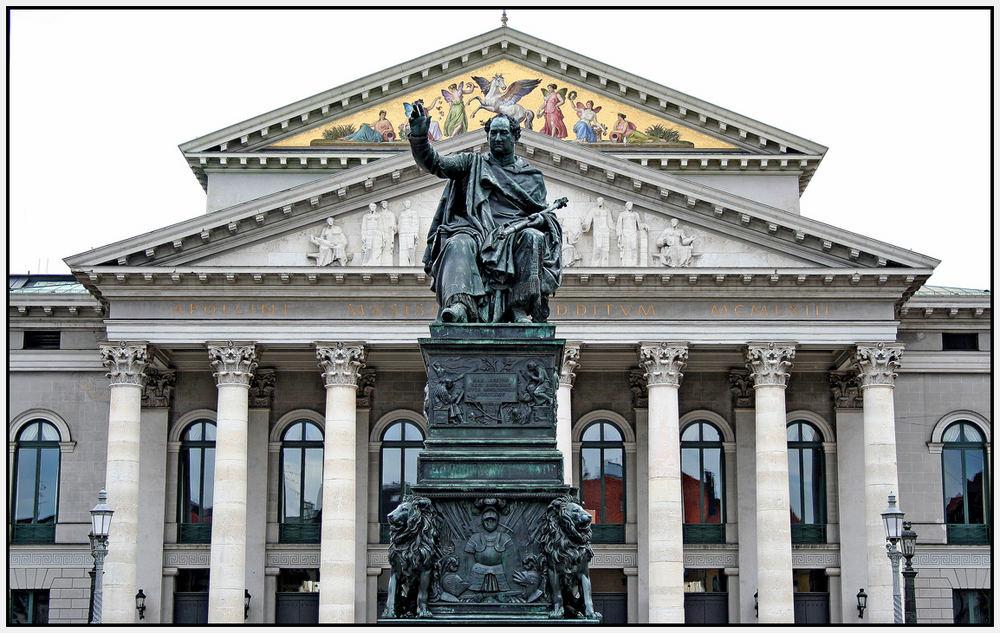 Das Nationaltheater in München
