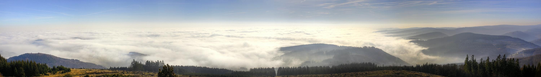 Das Nebelmeer am Rothaargebirge