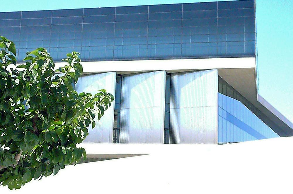das neue Akropolis-Museum - im Vorbeifahren