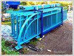 Das neue Brückemgeländer der Sanzenerg-Brücke  (1)