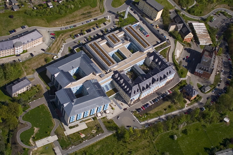 Das neue Klinikum in Greiz