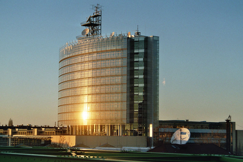 Das neue MDR-Gebäude