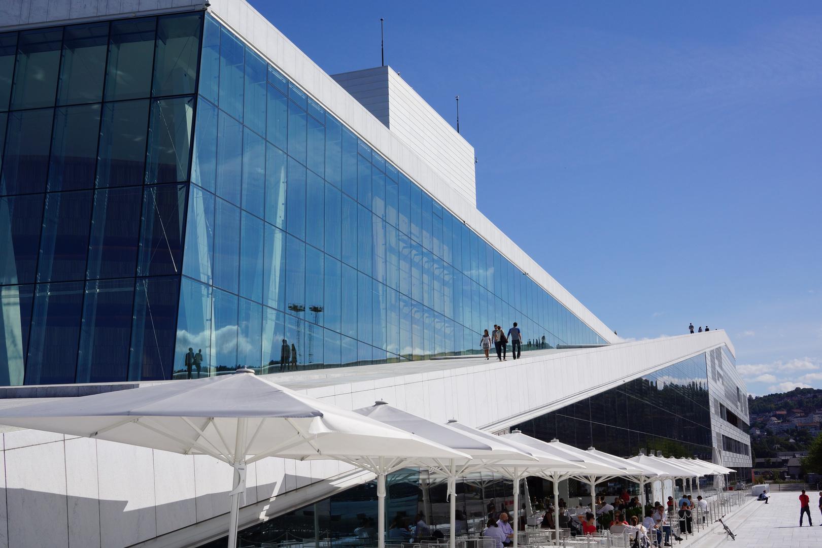 Das Neue Opernhaus in Oslo (2)