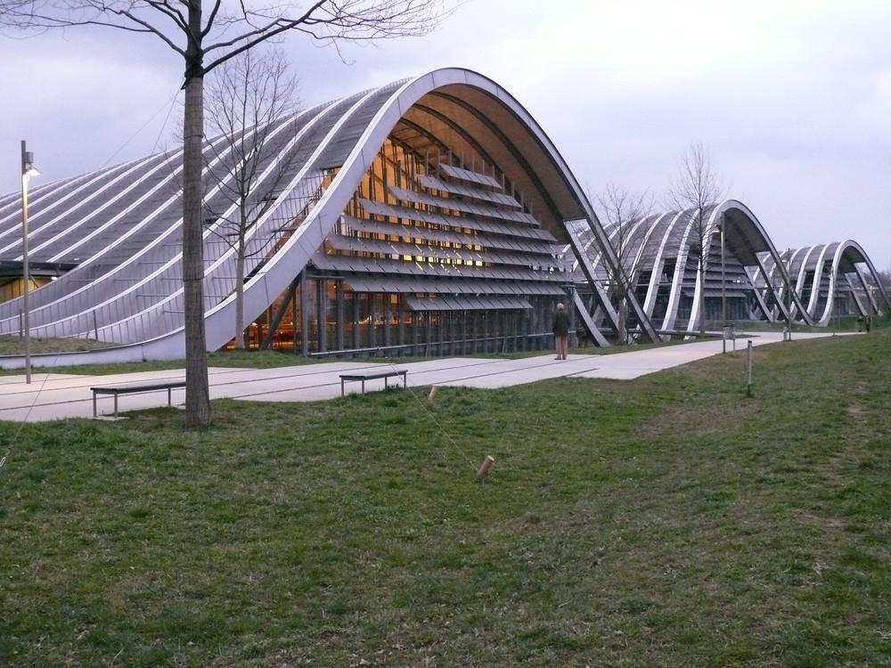 das neue paul klee museum in bern / schweiz