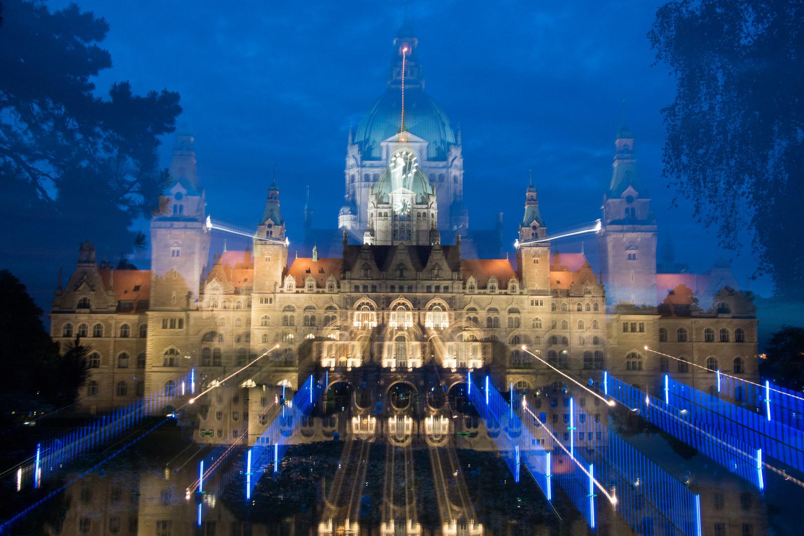 Das Neue Rathaus in Hannover, einmal anders