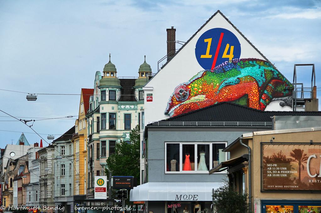 das neue Wahrzeichen des Viertels am Ostertorsteinweg