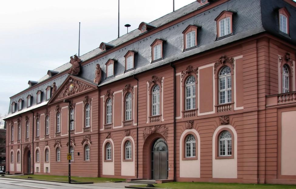 das neue Zeughaus in Mainz