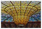 Das Oberlicht des Palau de la Música Catalana