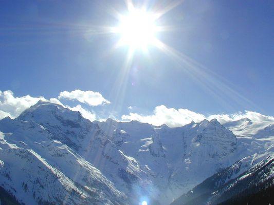 Das Oertlergebiet in den Alpen (Italien)