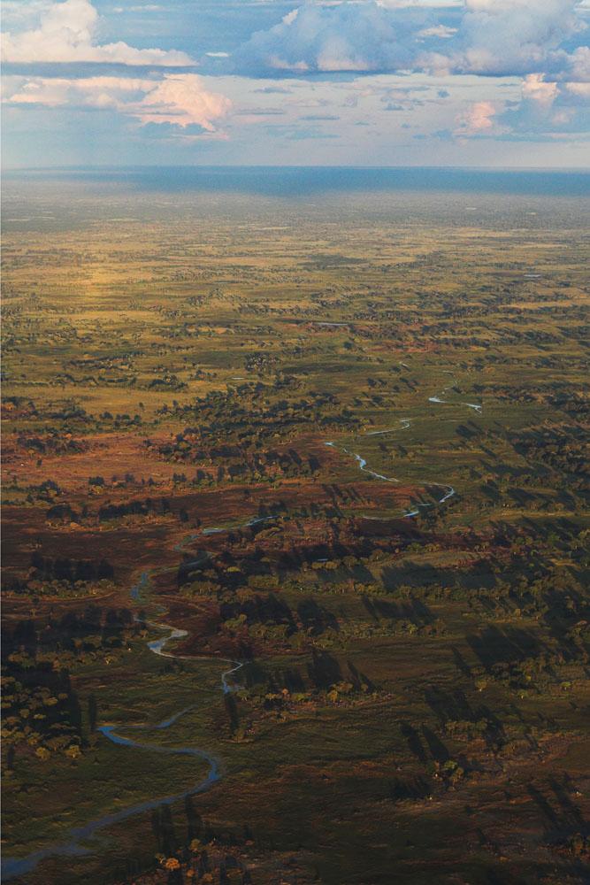 Das Okavango-Delta von oben (5/5)