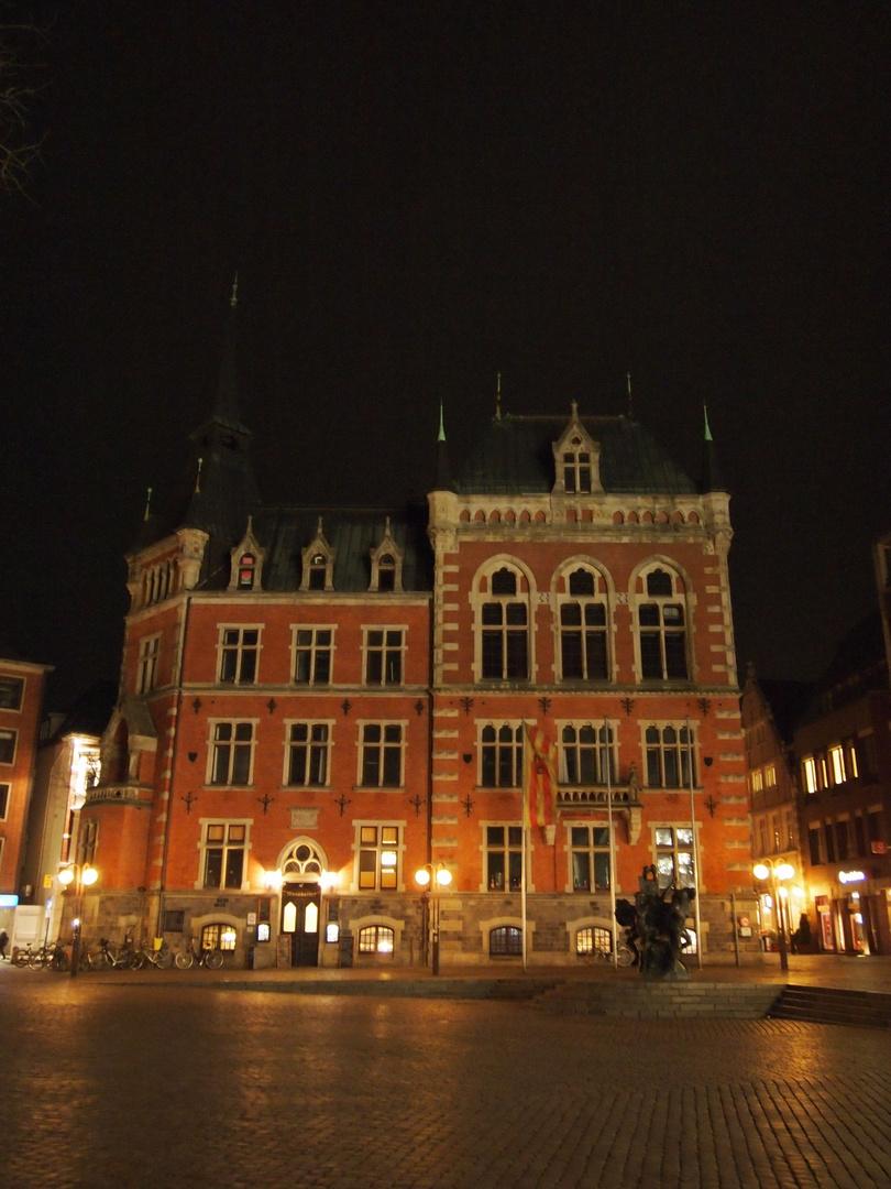 Das Oldenburger Rathaus - ganz undramatisch