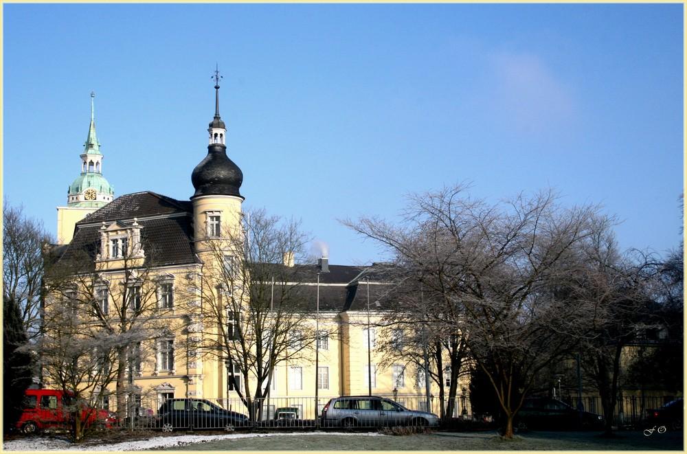 Das Oldenburger Schloss im Winter