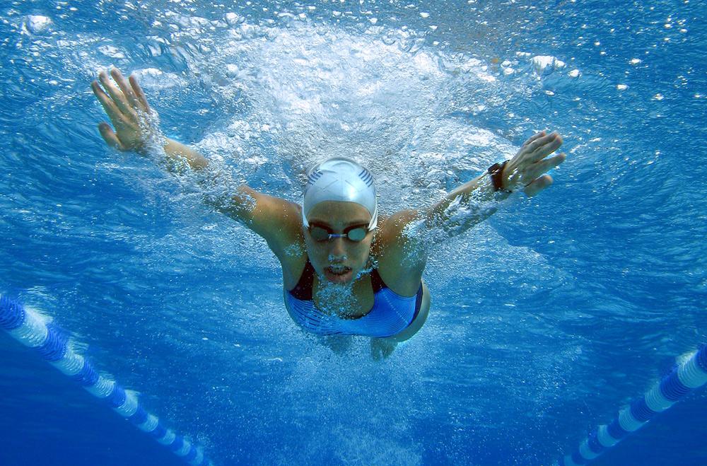 das olympische wasser...