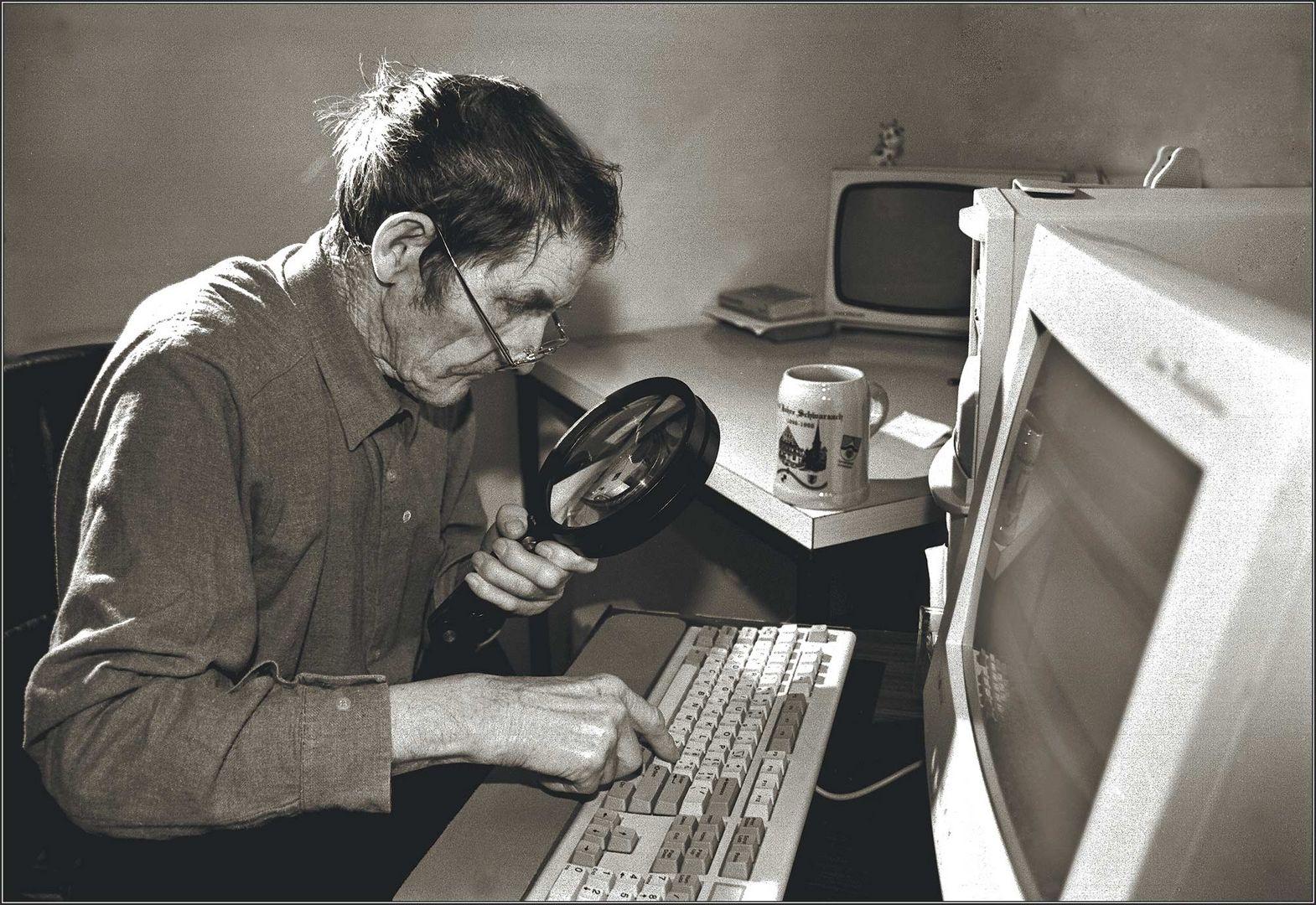 Das Opfer des Internets