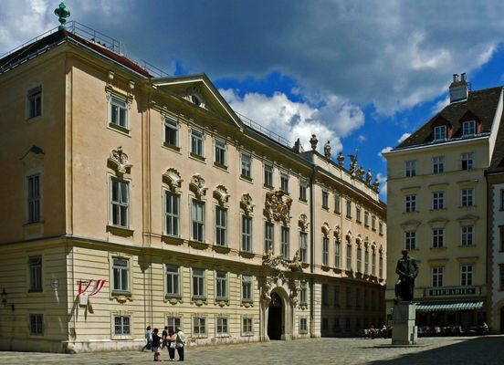 Das Palais der Böhmischen Hofkanzlei