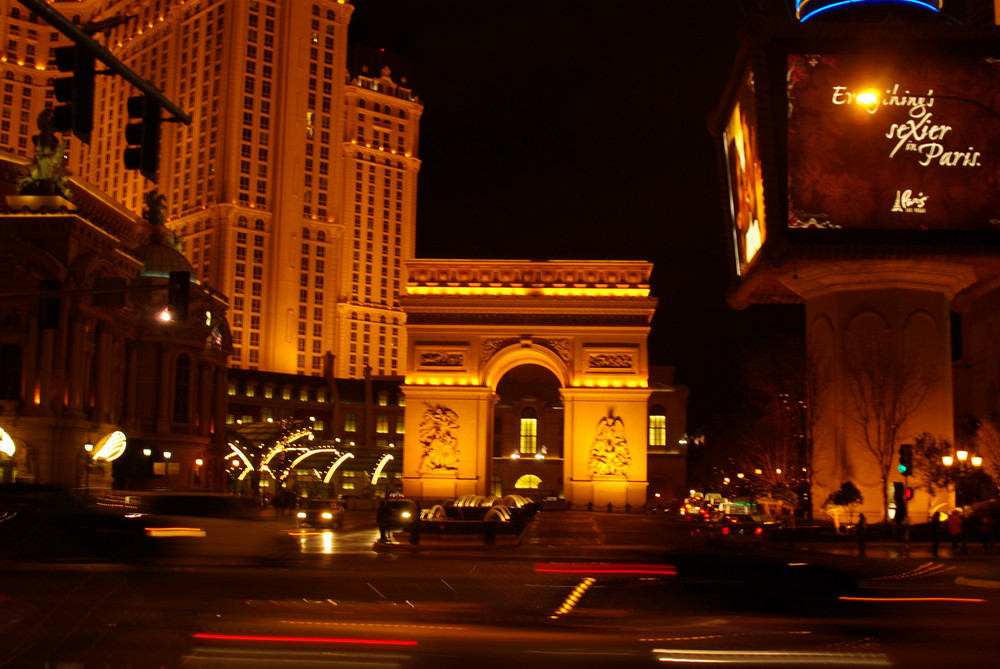 Das Paris Hotel am Las Vegas Strip
