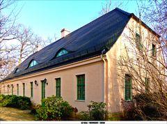 Das Parkinspektorenhaus in Branitz  ..