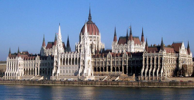 Das Parlament in Budapest 2