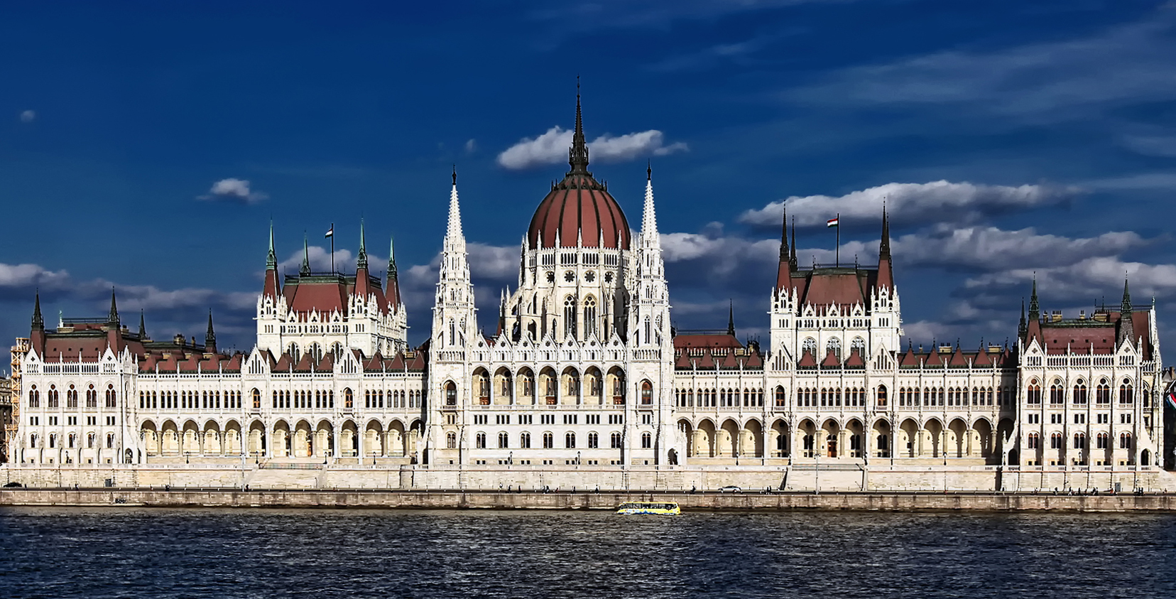 Das Parlament in Budapest