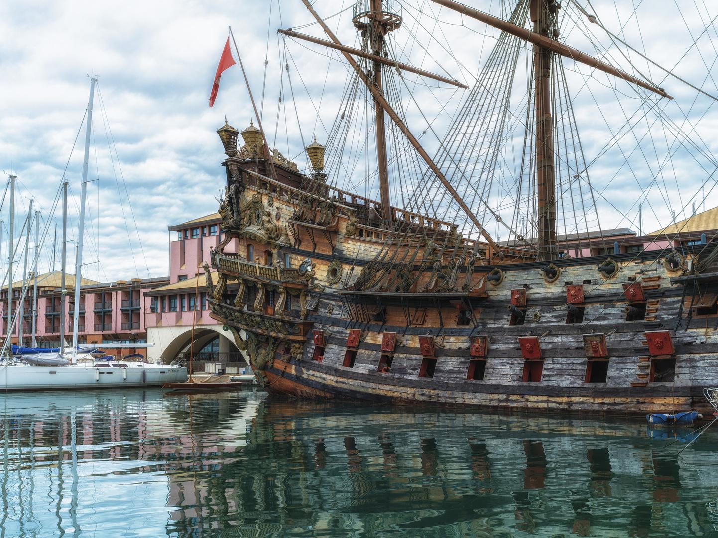 Das Piratenschiff von Polanski