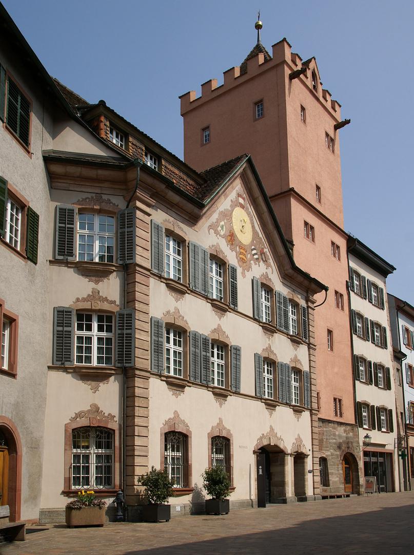 ..das Rathaus..