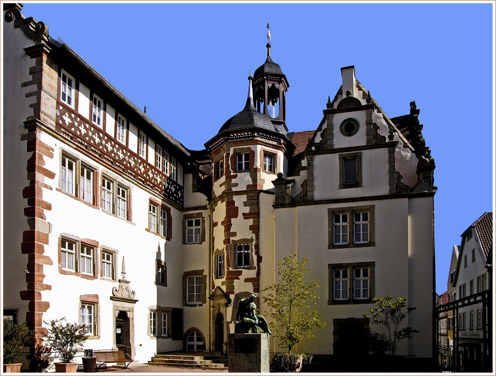 das rathaus in bad hersfeld foto bild architektur profanbauten besondere bauwerke bilder. Black Bedroom Furniture Sets. Home Design Ideas