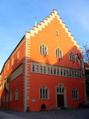 Das Rathaus in Ravensburg - 19:45 Uhr