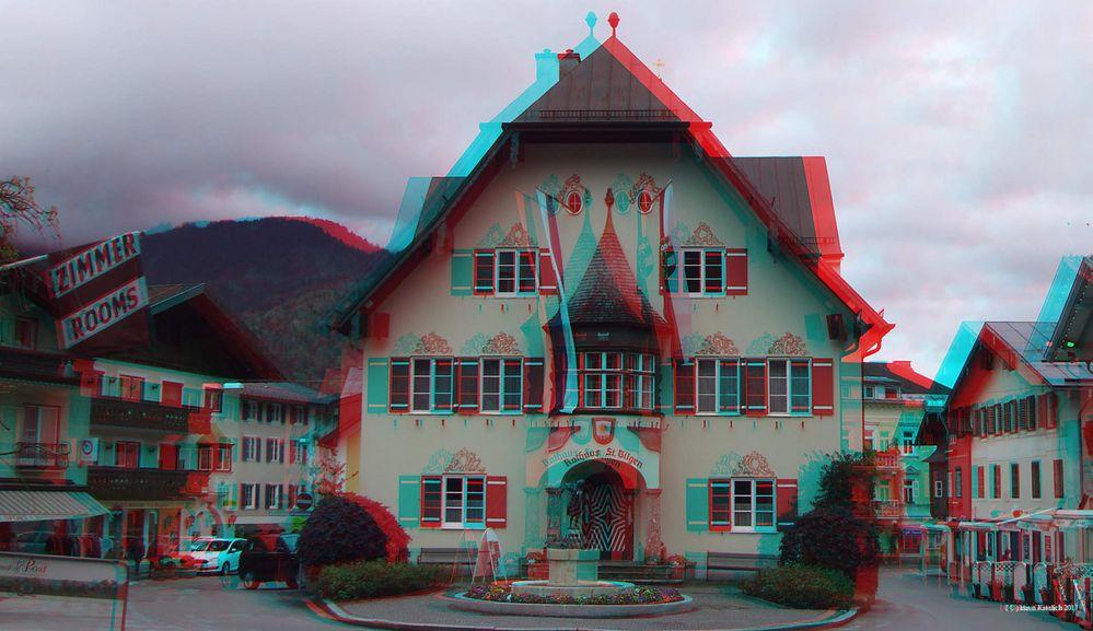 Das Rathaus in St.Gilgen