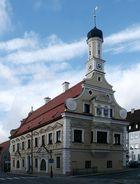 Das Rathaus von Friedberg bei Augsburg