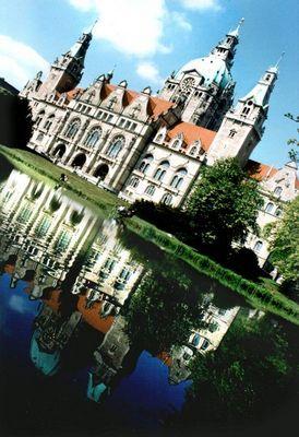 Das Rathaus von Hannover