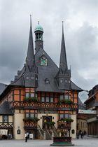 Das Rathaus von Wernigerode - ein äußerst markantes Bauwerk