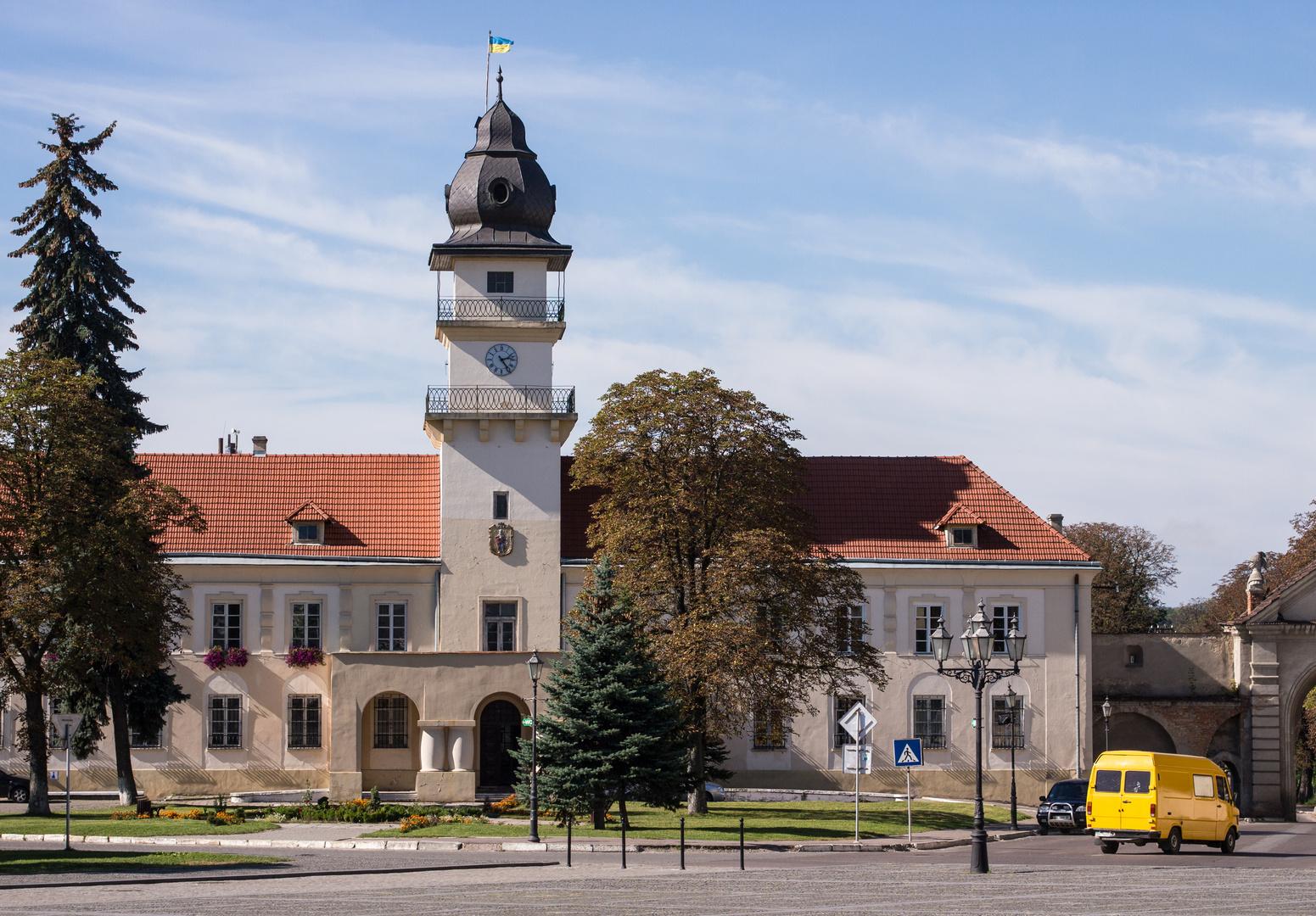 Das Rathaus von Zhovka