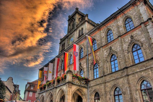 Das Rathaus Weimar