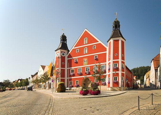 Das Rathaus zu Burglengenfeld