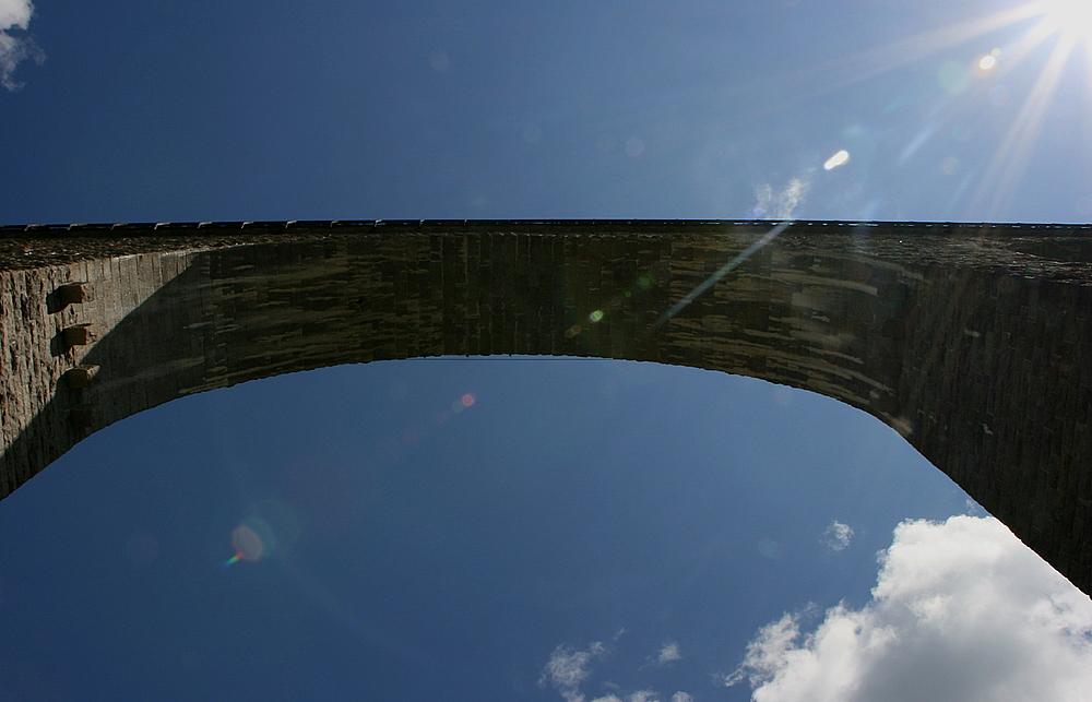 Das Ravennaviadukt im Höllental