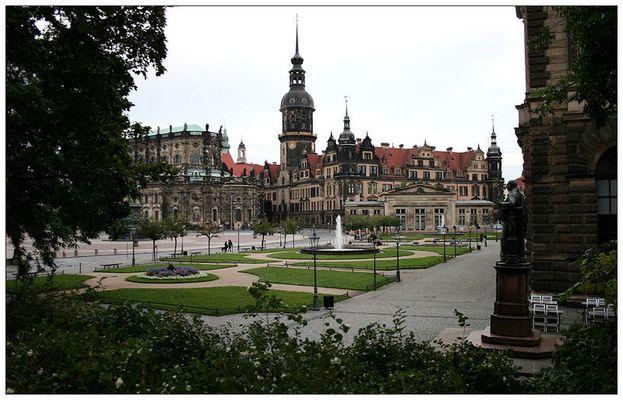 Das Residenz-Schloss Dresden