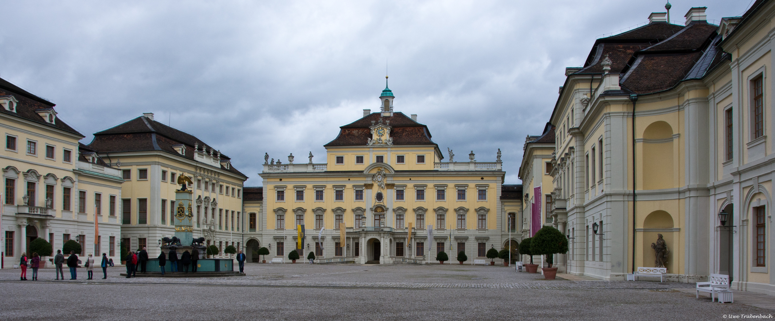 Das Residenzschloss in Ludwigsburg