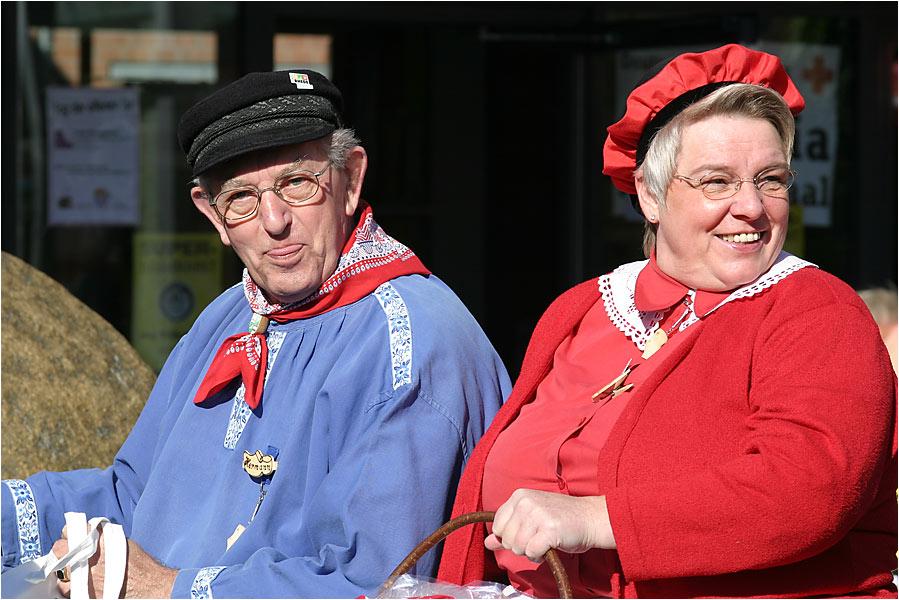 Das Rheder Pärchen - Klumpensonntag 2004