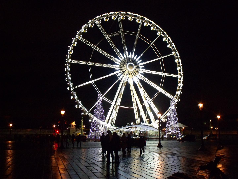 Das Riesenrad am Place de la Concorde