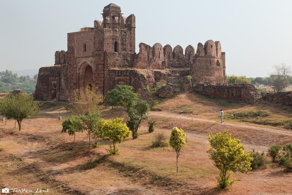 Das Rohtas- Fort in Dina