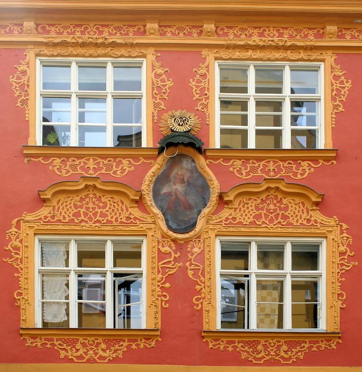 Das Rokokohaus Am Stein 5 in Ingolstadt