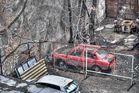 Das rote Auto ...