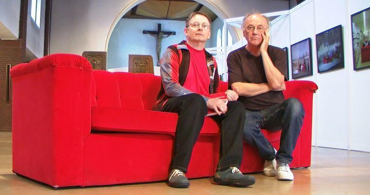 """""""Das rote Sofa in Wattenscheid - in www.Tagen um die Welt"""" (ArchivFoto)"""