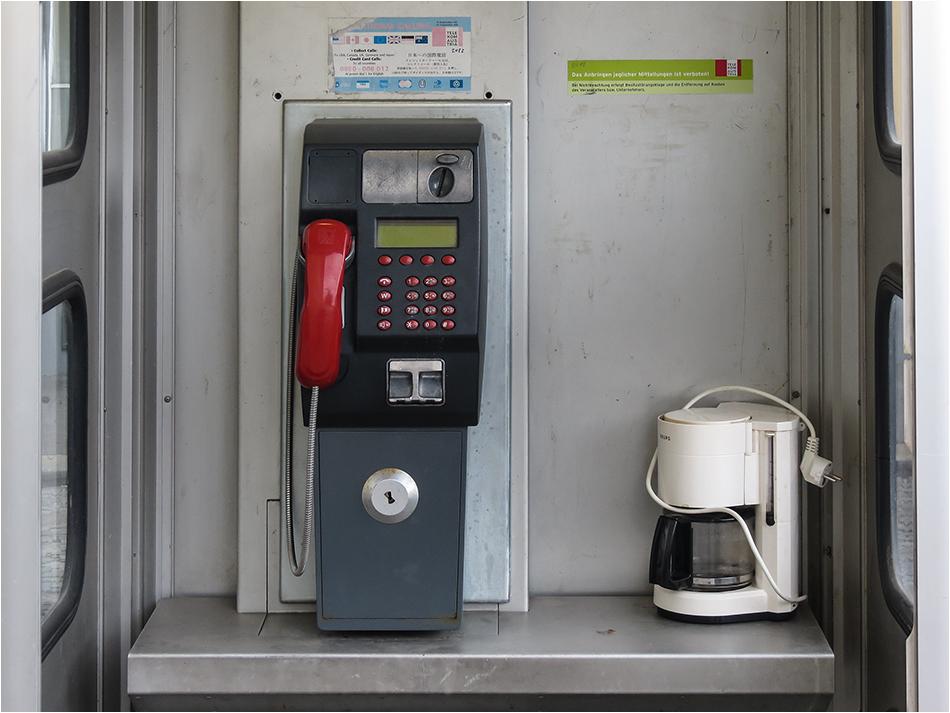 Das Rote Telefon.