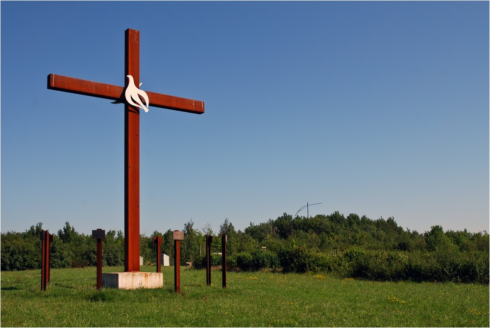 Das Sachsenkreuz ...