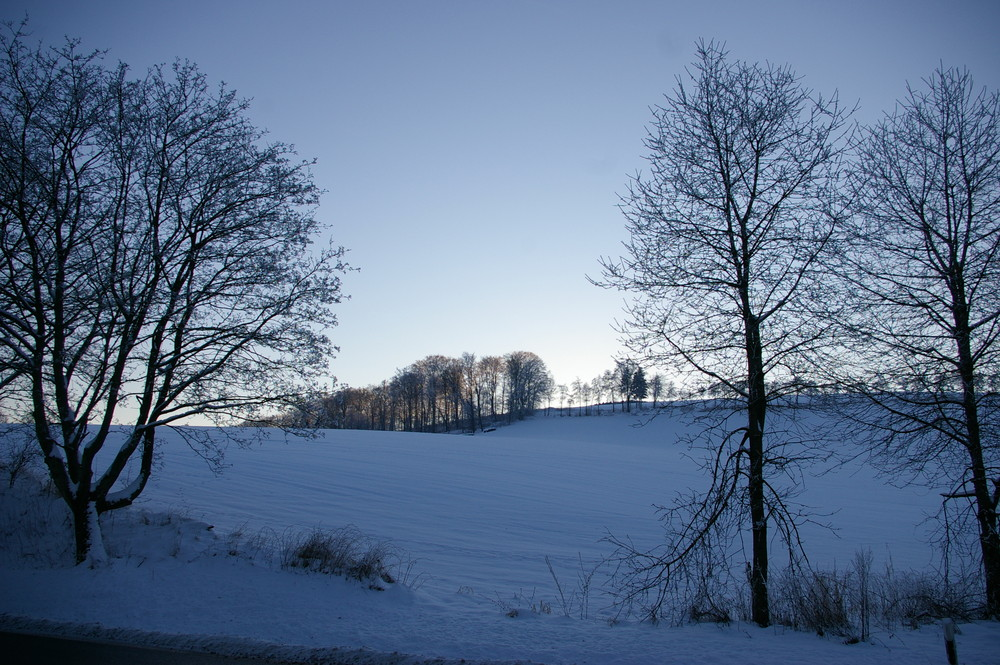 Das Sauerland im Schnee