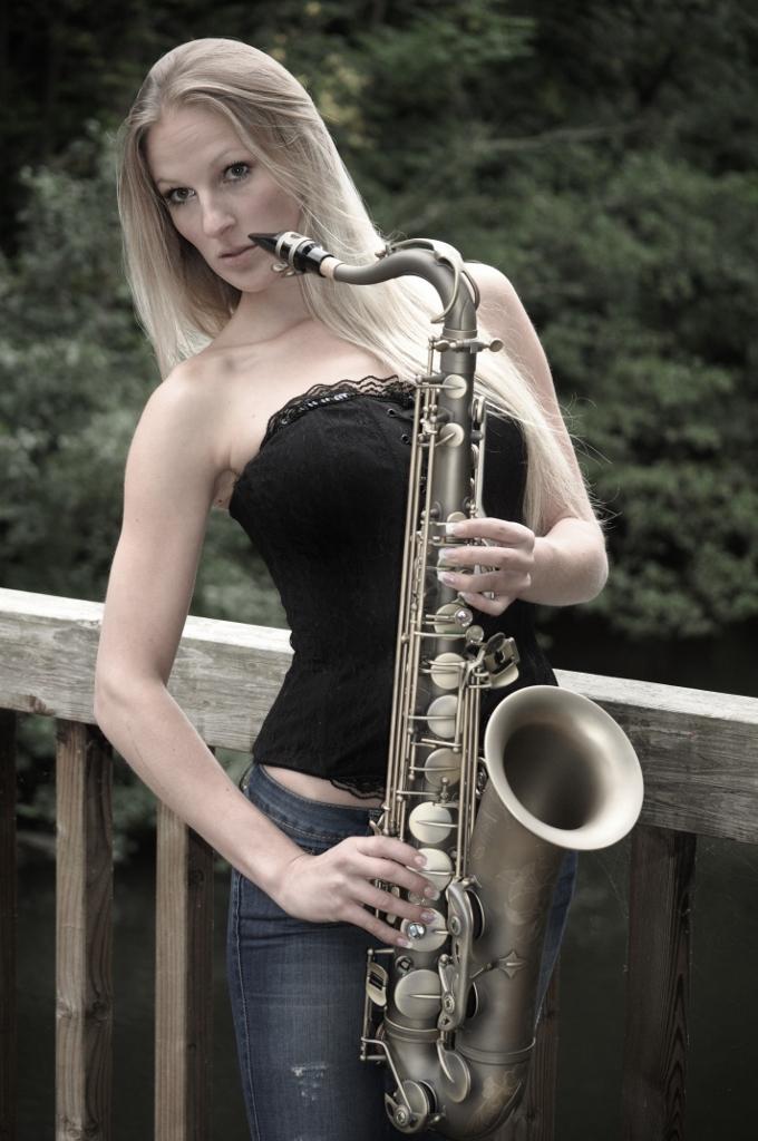 Das Saxofon und Kati